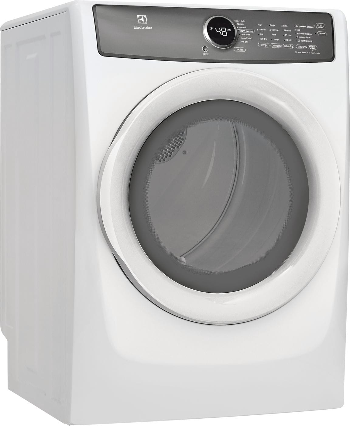 Electrolux Front Load Perfect Steam™ Gas Dryer with 7 cycles - 8.0 Cu. Ft.