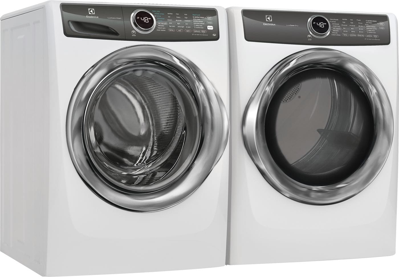 Model: EFMG527UIW | Electrolux Front Load Perfect Steam™ Gas Dryer with LuxCare® Dry and Instant Refresh - 8.0 Cu. Ft.