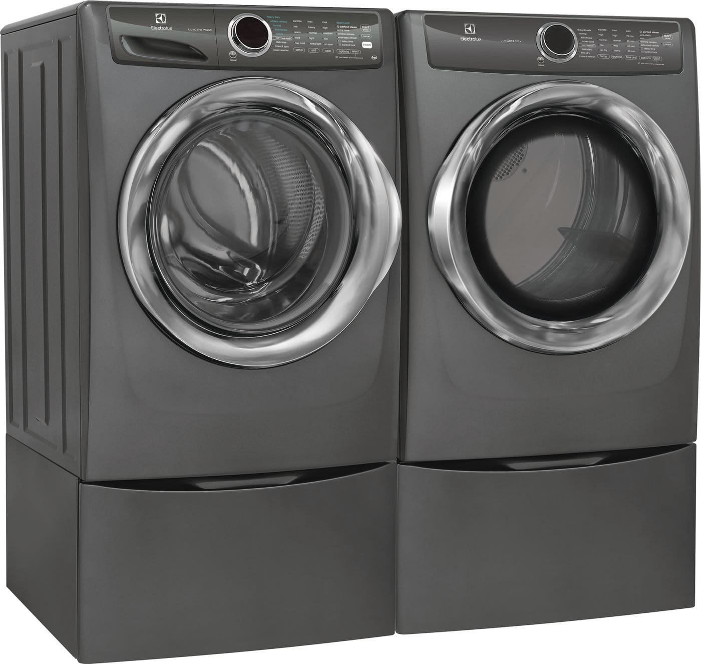 Model: EFMG527UTT | Electrolux Front Load Perfect Steam™ Gas Dryer with LuxCare® Dry and Instant Refresh - 8.0 Cu. Ft.