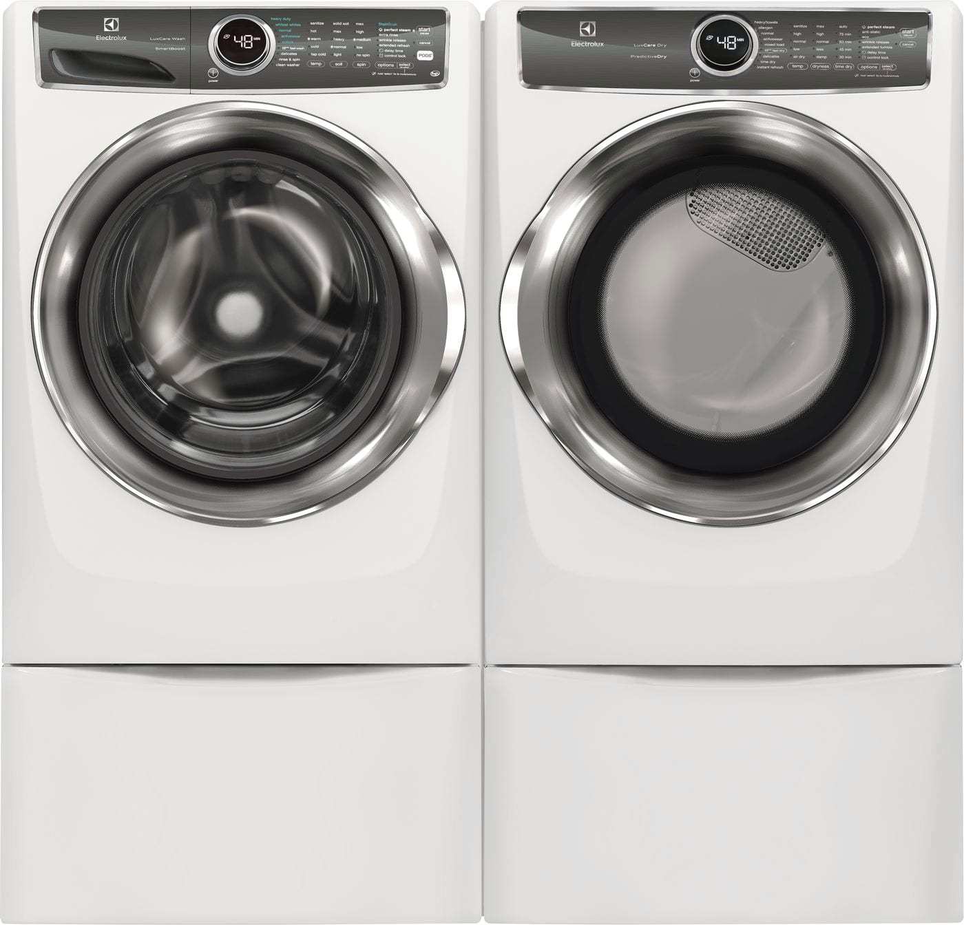 Electrolux - EFMG627UIW - Front Load Perfect Steam™ Gas Dryer with on