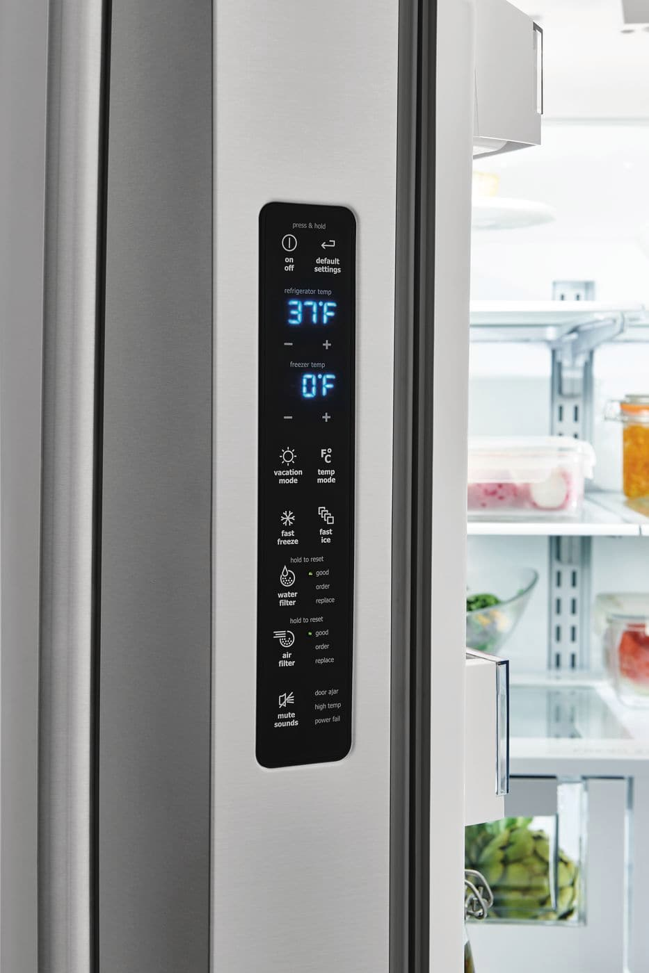 Model: EI23BC82SS | Electrolux Counter-Depth French Door Refrigerator with IQ-Touch™ Controls
