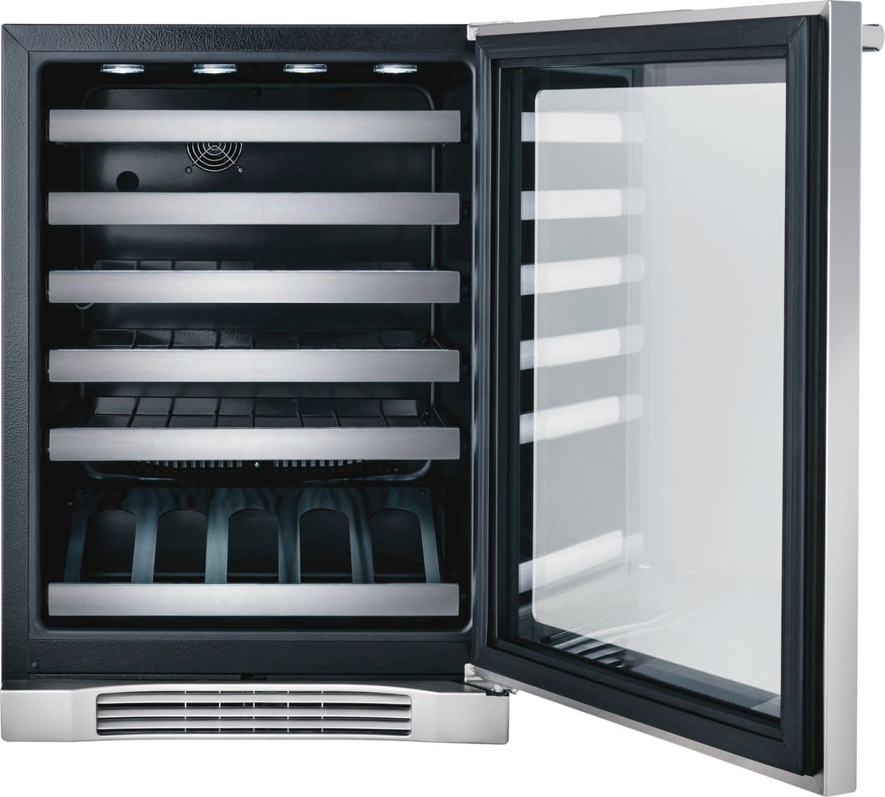 "Model: EI24WC10QS | Electrolux 24"" Under-Counter Wine Cooler with Right-Door Swing"
