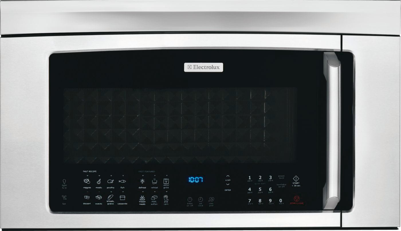 "Electrolux 30"" Over-the-Range Convection Microwave Oven with Bottom Controls"
