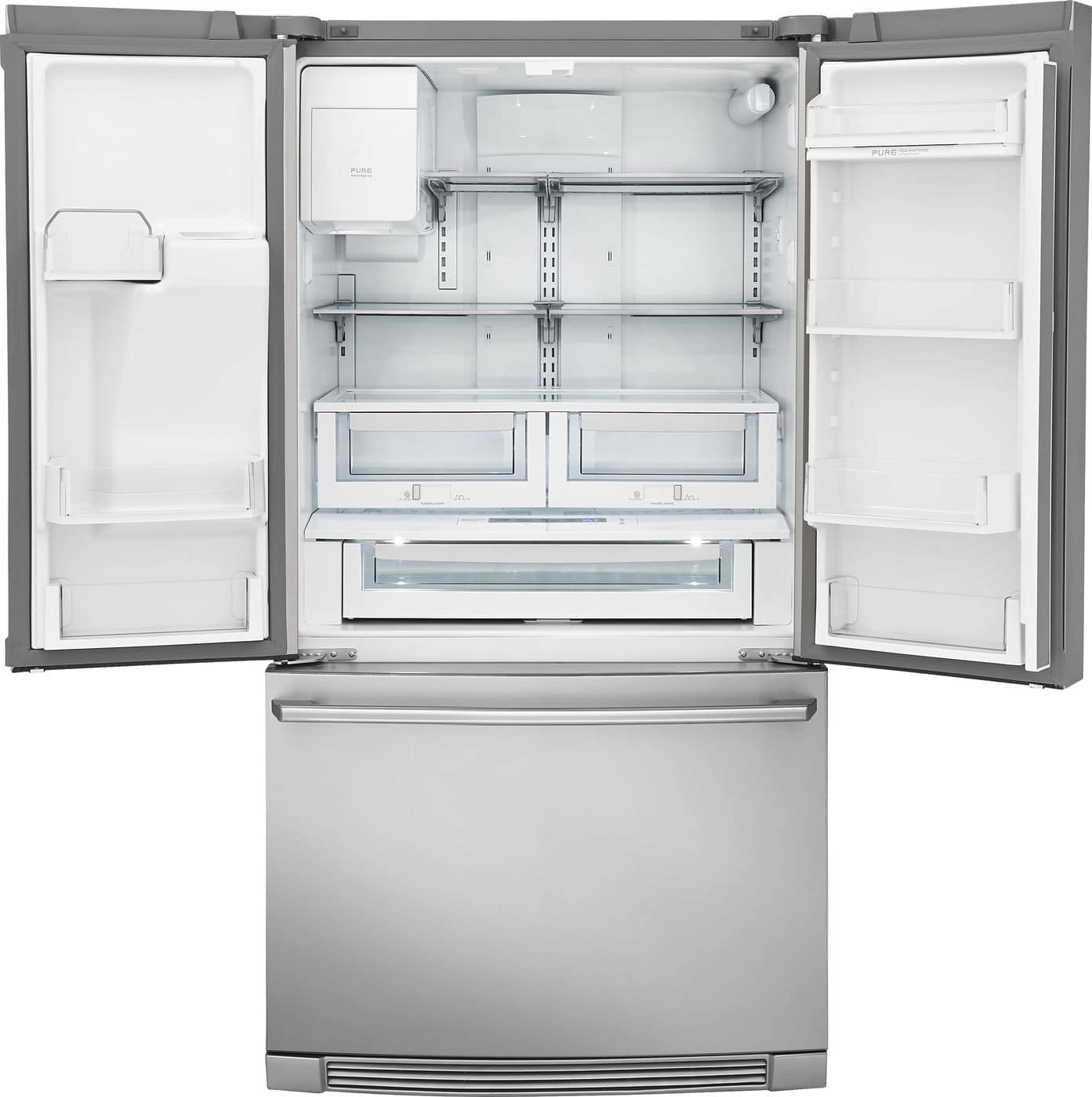 Model: EW23BC87SS | Counter-Depth French Door Refrigerator with Wave-Touch® Controls