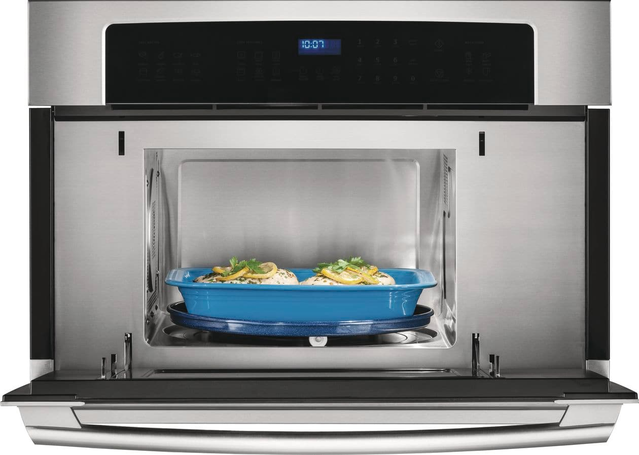 "Model: EW30SO60QS | Electrolux 30"" Built-In Convection Microwave Oven with Drop-Down Door"