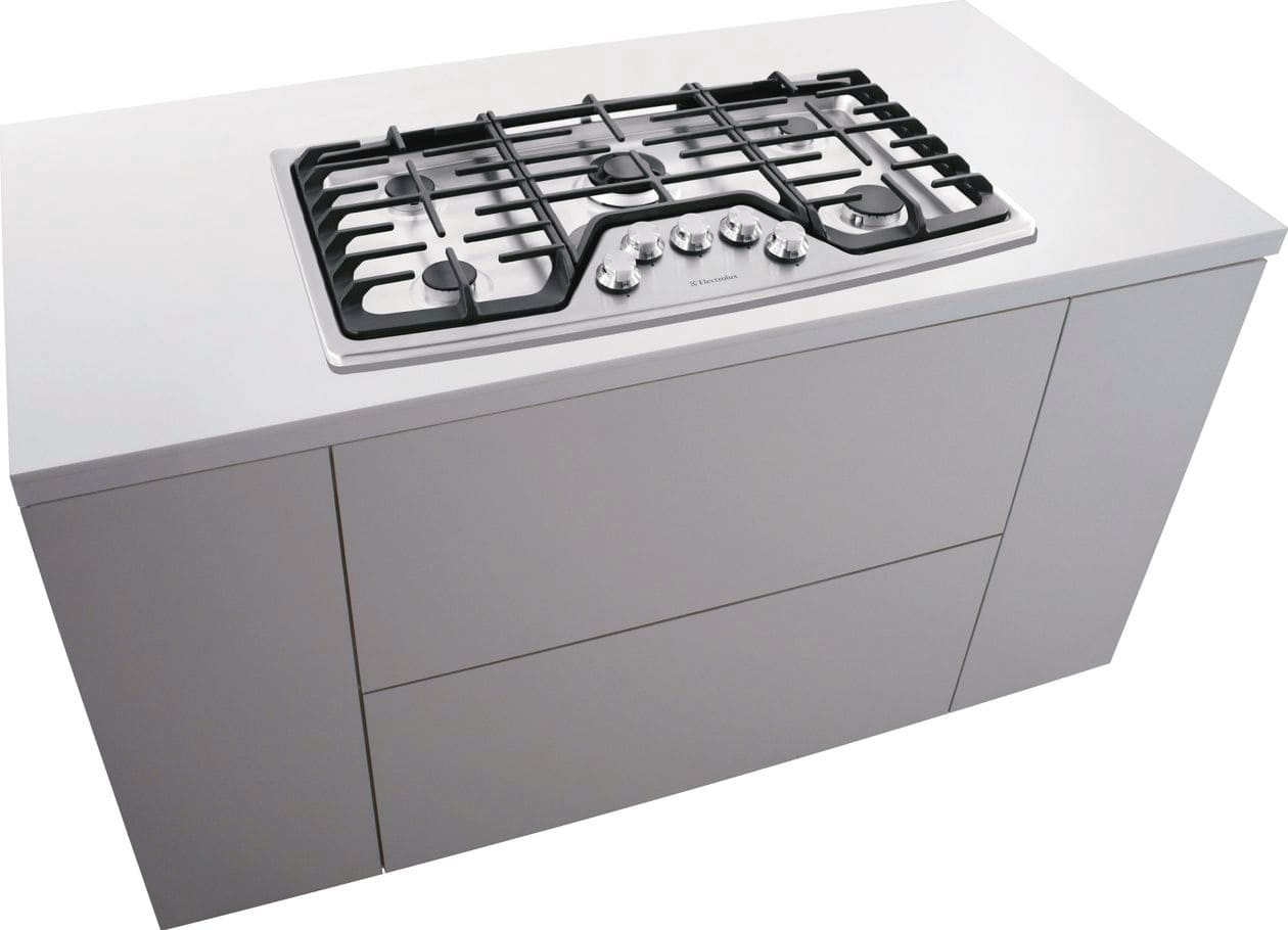 "Model: EW36GC55PS | Electrolux 36"" Gas Cooktop"