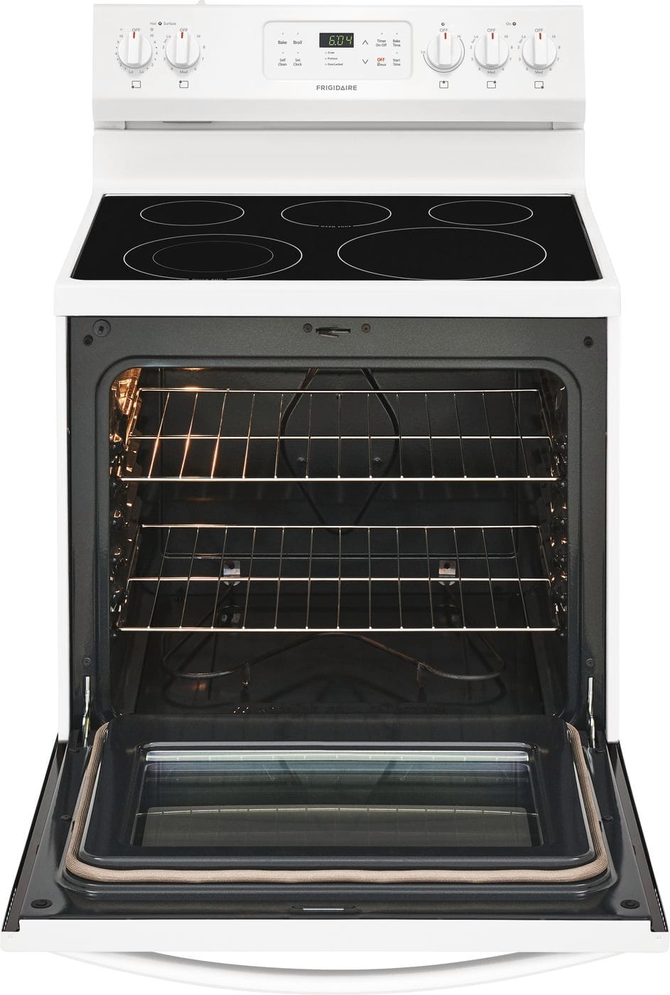 "Model: FFEF3054TW | Frigidaire 30"" Electric Range"