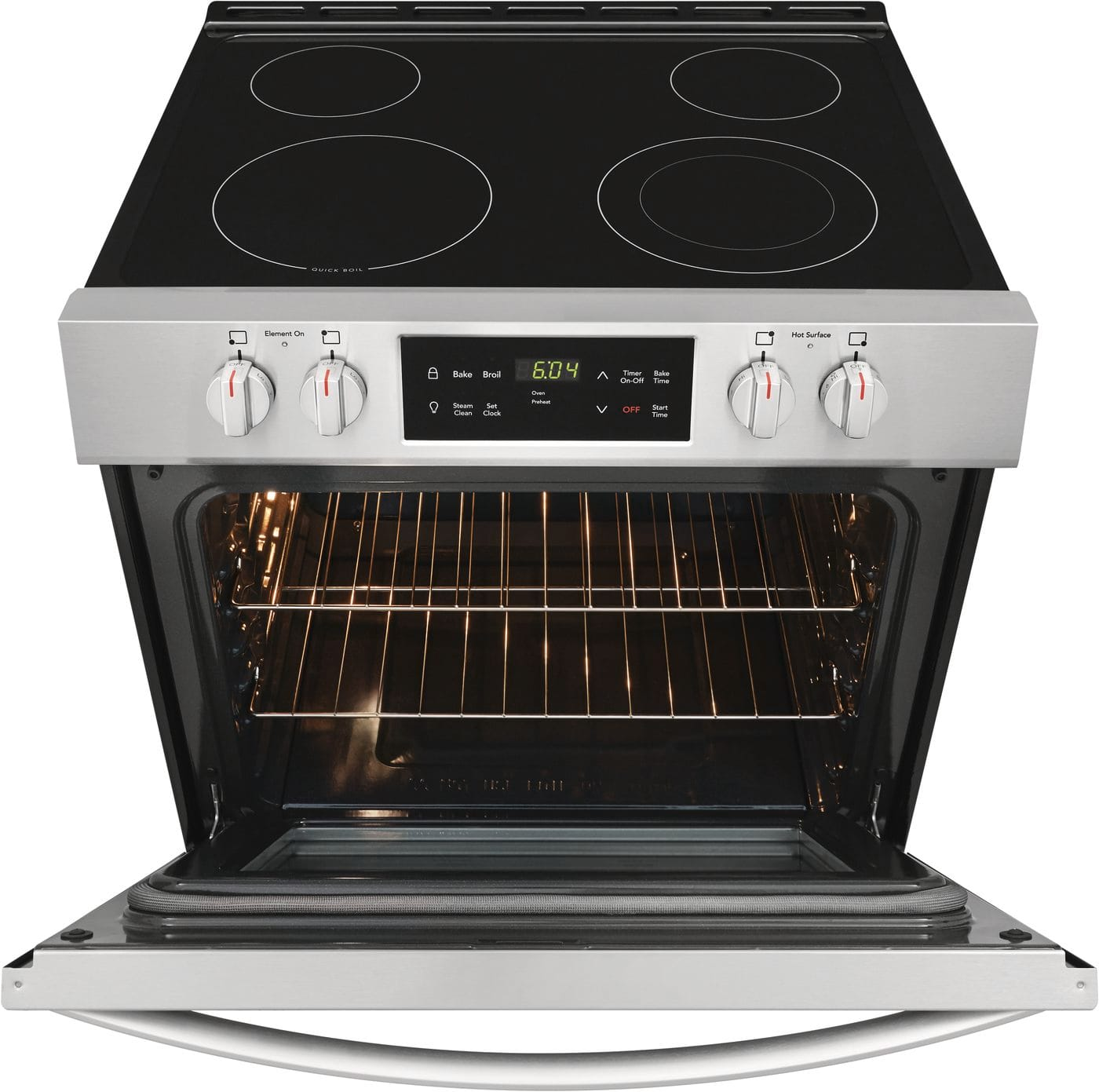 "Model: FFEH3051VS | Frigidaire 30"" Front Control Electric Range"