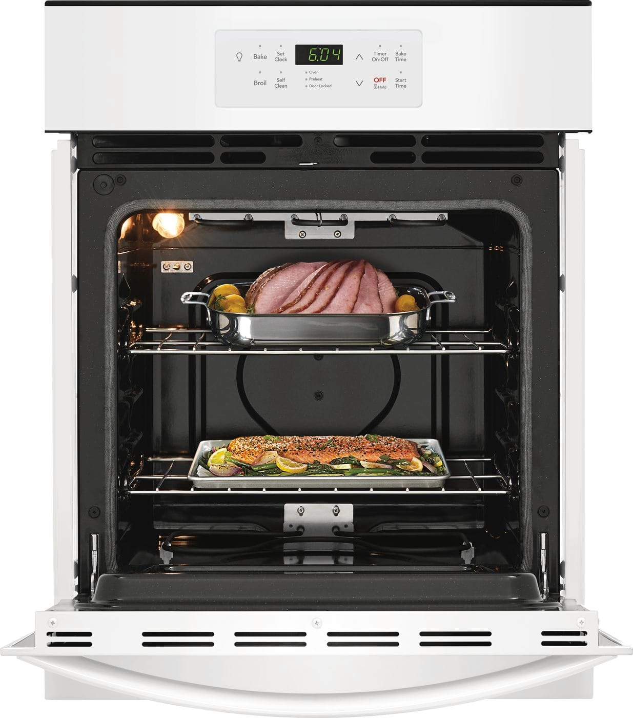 "Model: FFEW2426UW | Frigidaire 24"" Single Electric Wall Oven"