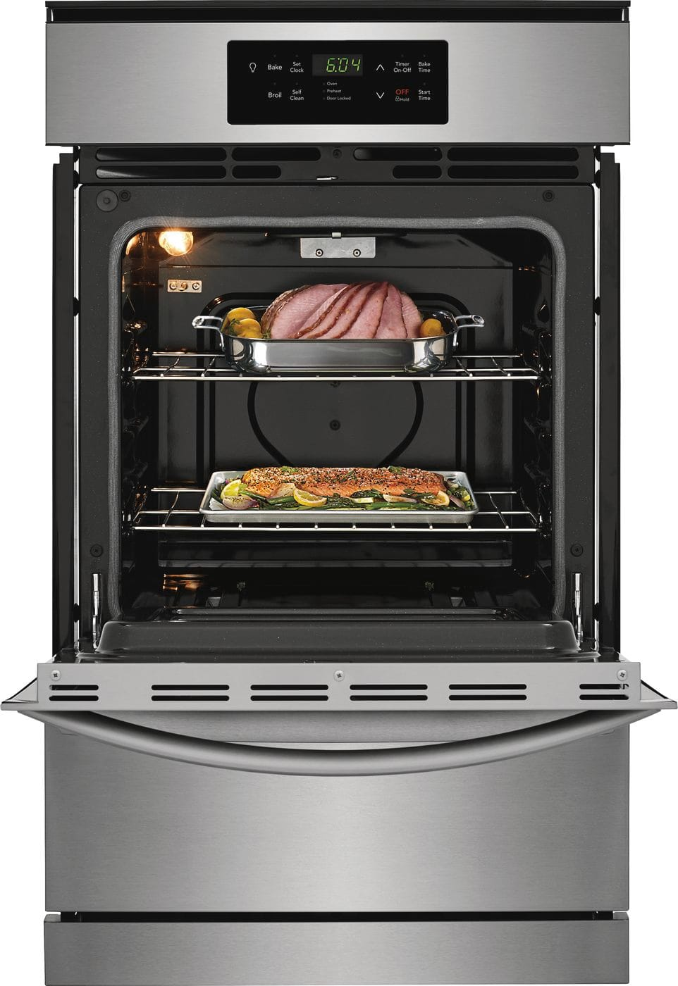"Model: FFGW2426US | Frigidaire 24"" Single Gas Wall Oven"