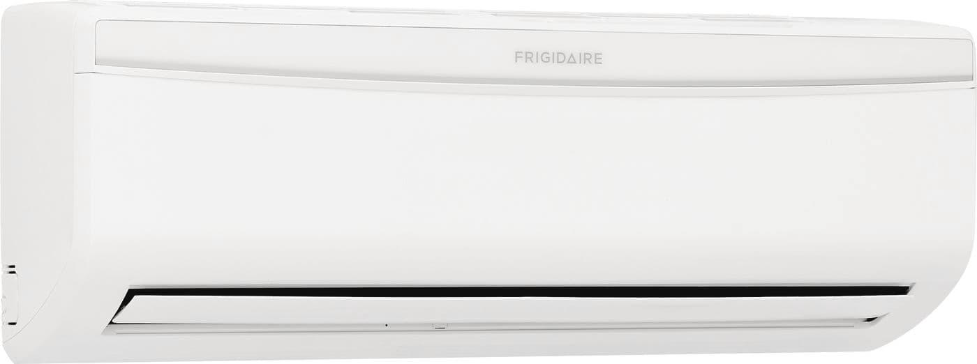 Model: FFHP124WS1 | Frigidaire Ductless Split Air Conditioner Cool and Heat- 12,000 BTU, Heat Pump- 115V- Indoor unit