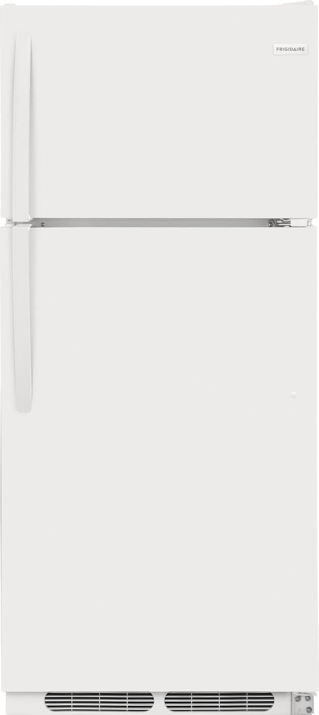Model: FFHT1621TW | Frigidaire 16.3 Cu. Ft. Top Freezer Refrigerator