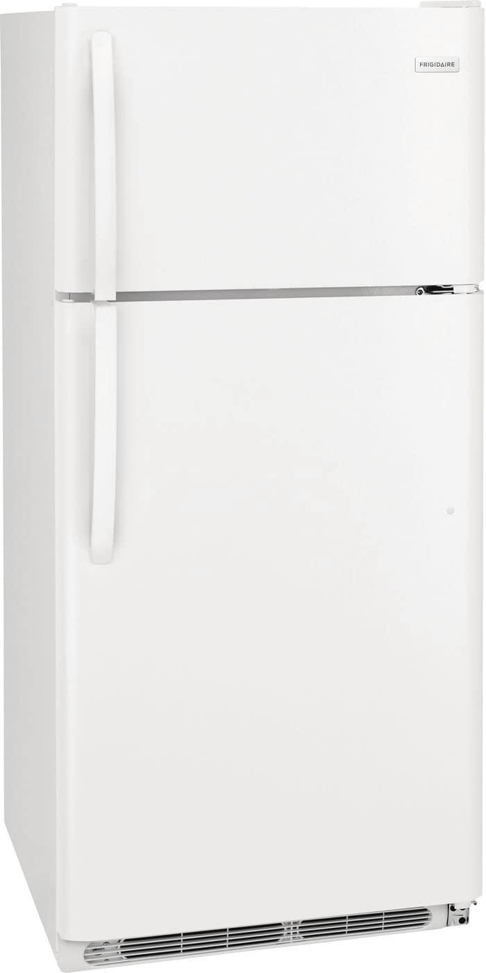 Model: FFHT1821TW | Frigidaire 18 Cu. Ft. Top Freezer Refrigerator