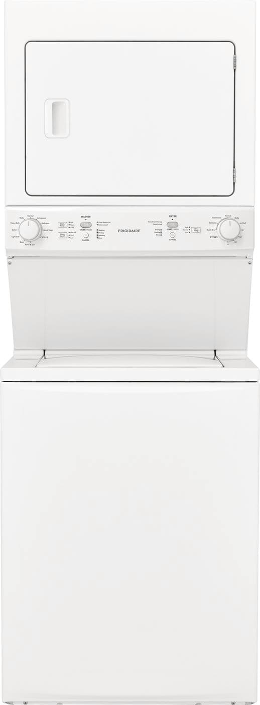 Model: FFLG3900UW | Gas Washer/Dryer Laundry Center - 3.9 Cu. Ft Washer and 5.5 Cu. Ft. Dryer