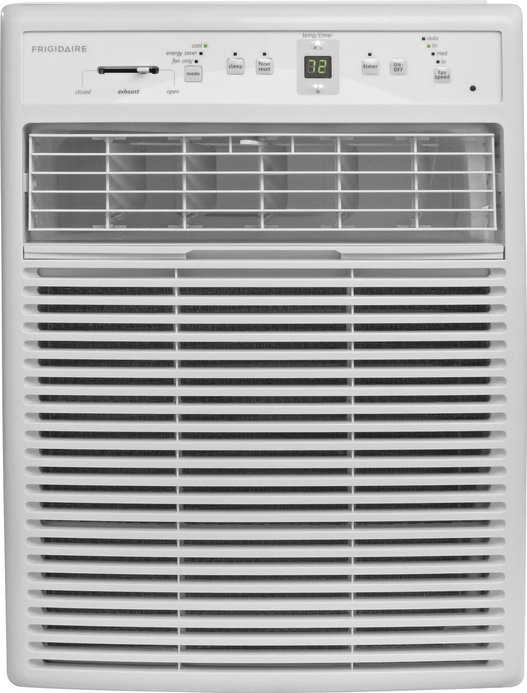 Model: FFRS1022R1 | Frigidaire 10,000 BTU Window-Mounted Slider / Casement Air Conditioner