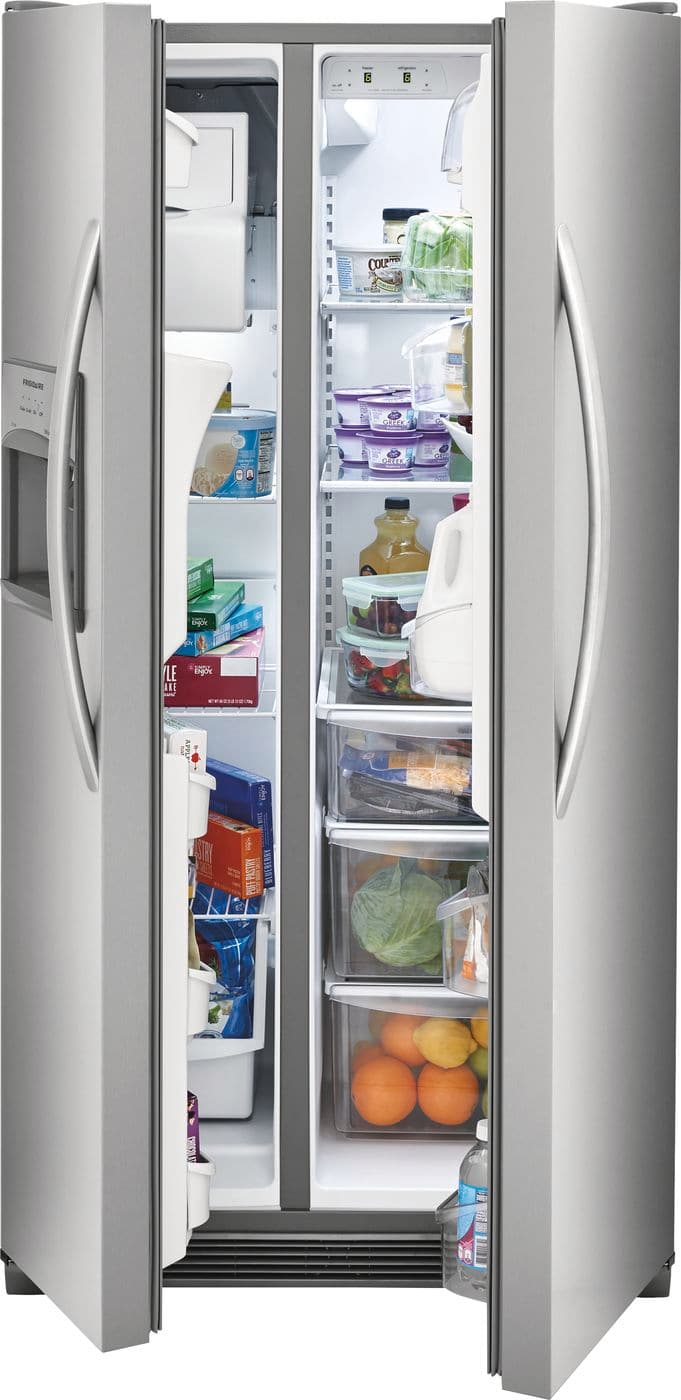 Model: FFSS2315TS | Frigidaire 22.1 Cu. Ft. Side-by-Side Refrigerator