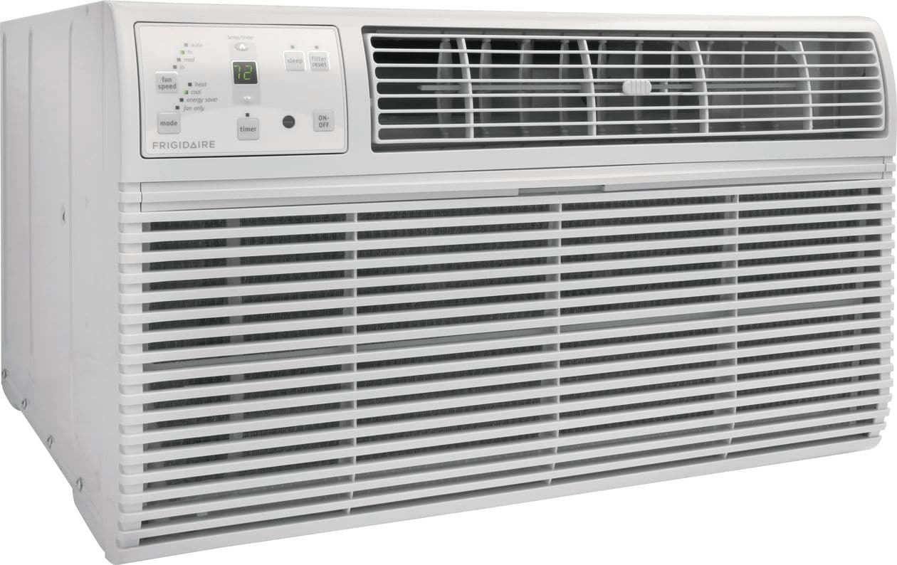 Model: FFTH0822Q1 | Frigidaire 8,000 BTU Built-In Room Air Conditioner with Supplemental Heat