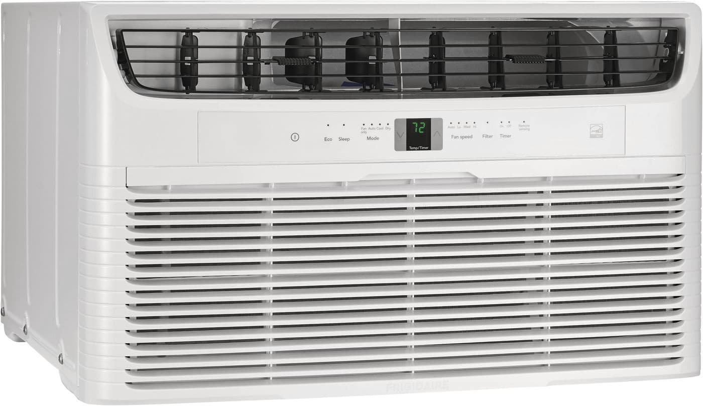 Model: FFTH122WA2 | Frigidaire 12,000 BTU Built-In Room Air Conditioner with Supplemental Heat- 230V/60Hz