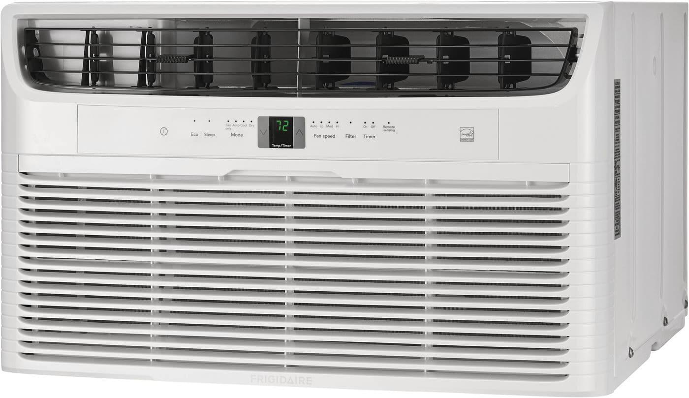 Model: FFTH122WA2   Frigidaire 12,000 BTU Built-In Room Air Conditioner with Supplemental Heat- 230V/60Hz