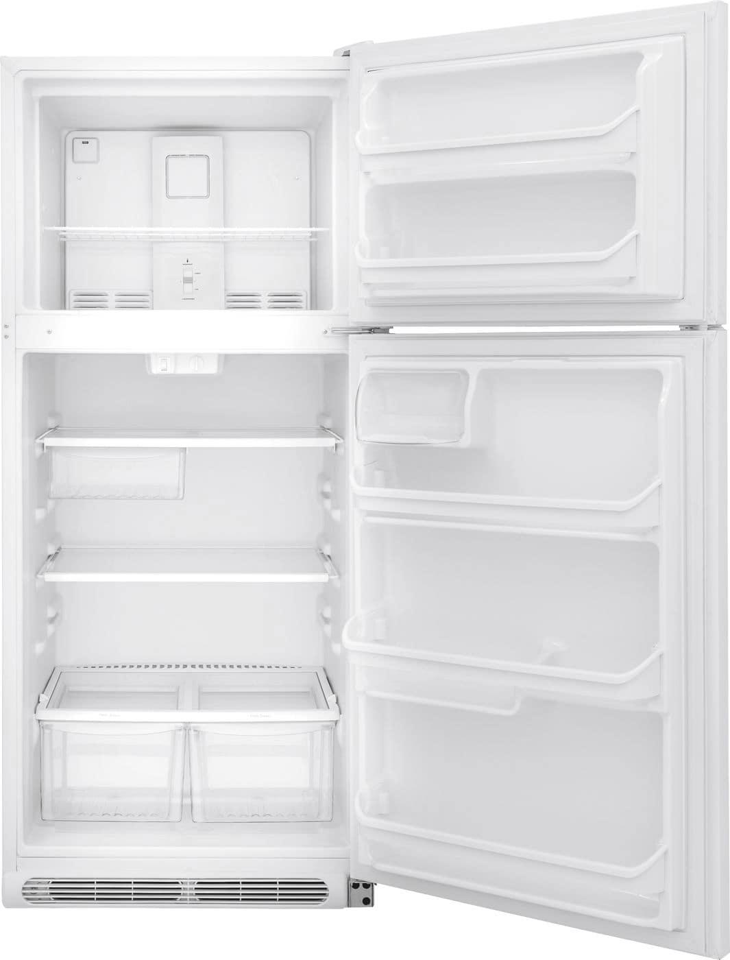 Model: FFTR2021TW | Frigidaire 20.4 Cu. Ft. Top Freezer Refrigerator