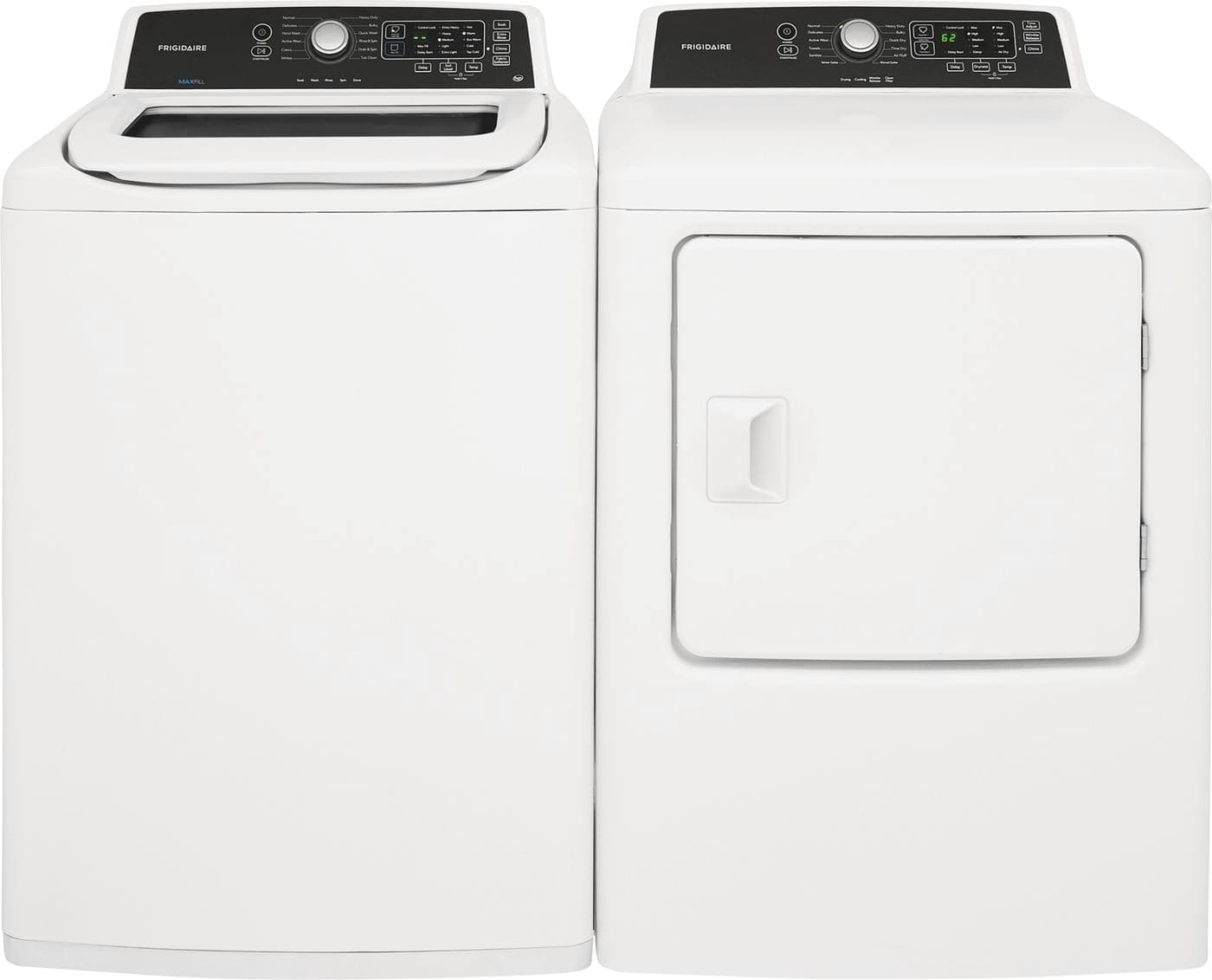 Model: FFTW4120SW | Frigidaire 4.1 Cu. Ft. High Efficiency Top Load Washer