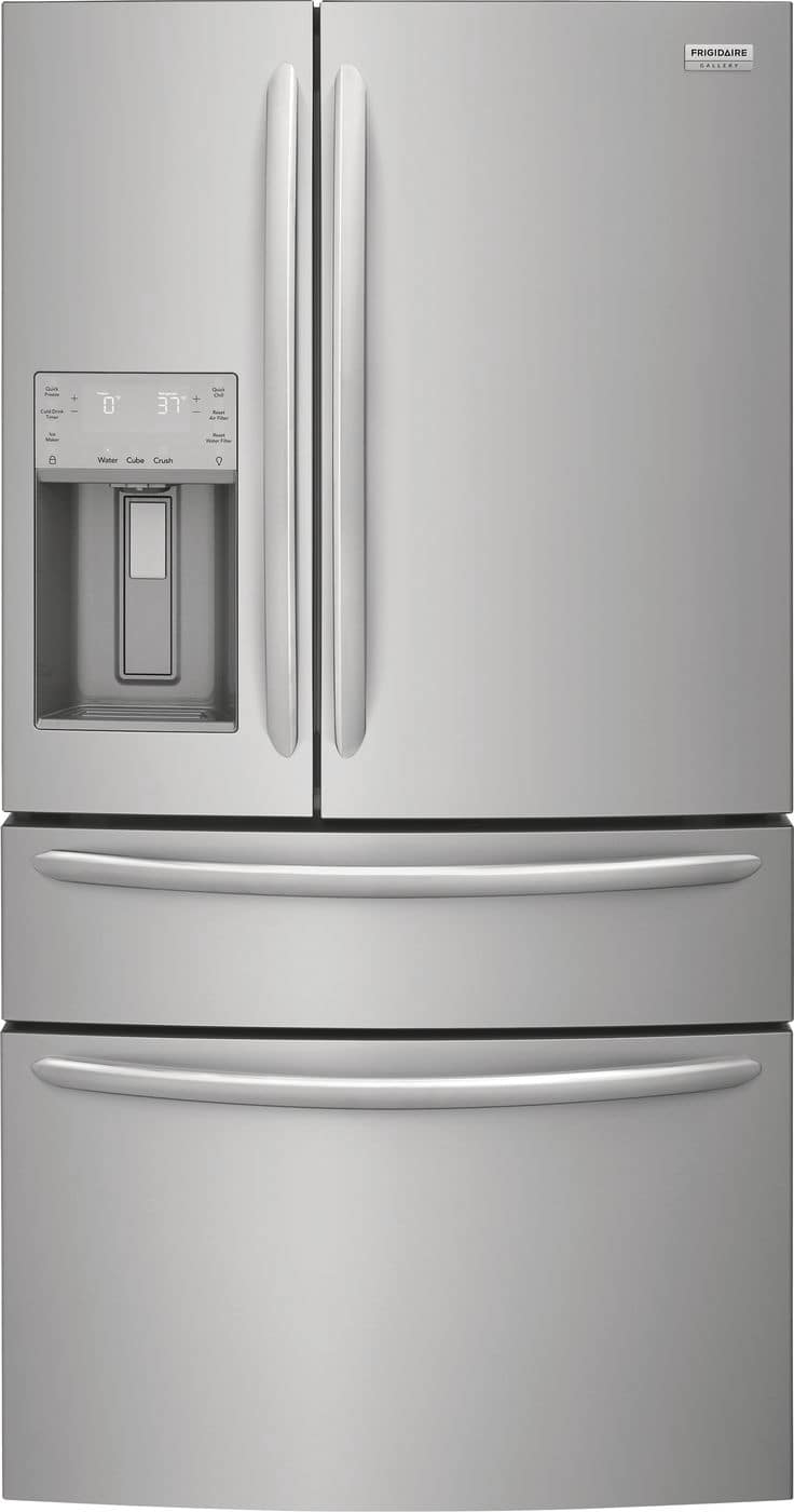 Frigidaire 21.8 Cu. Ft. Counter-Depth 4-Door French Door Refrigerator