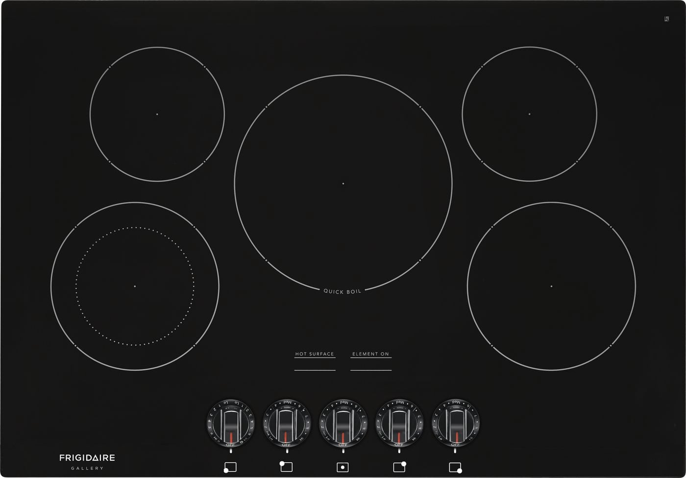 "Model: FGEC3068UB | Frigidaire 30"" Electric Cooktop"