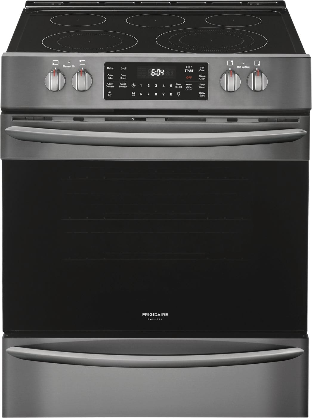 "Frigidaire 30"" Front Control Electric Range with Air Fry"