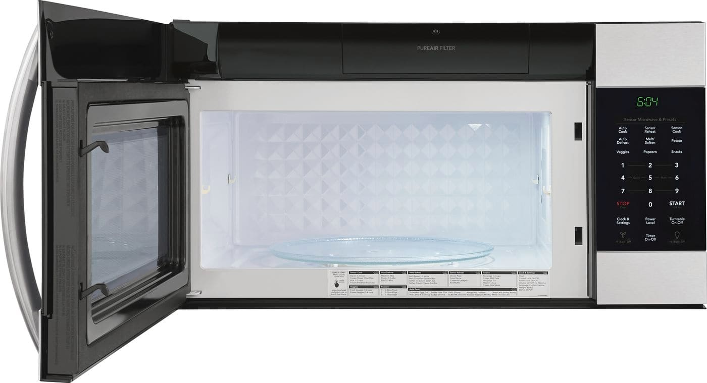 Model: FGMV176NTF | Frigidaire 1.7 Cu. Ft. Over-The-Range Microwave