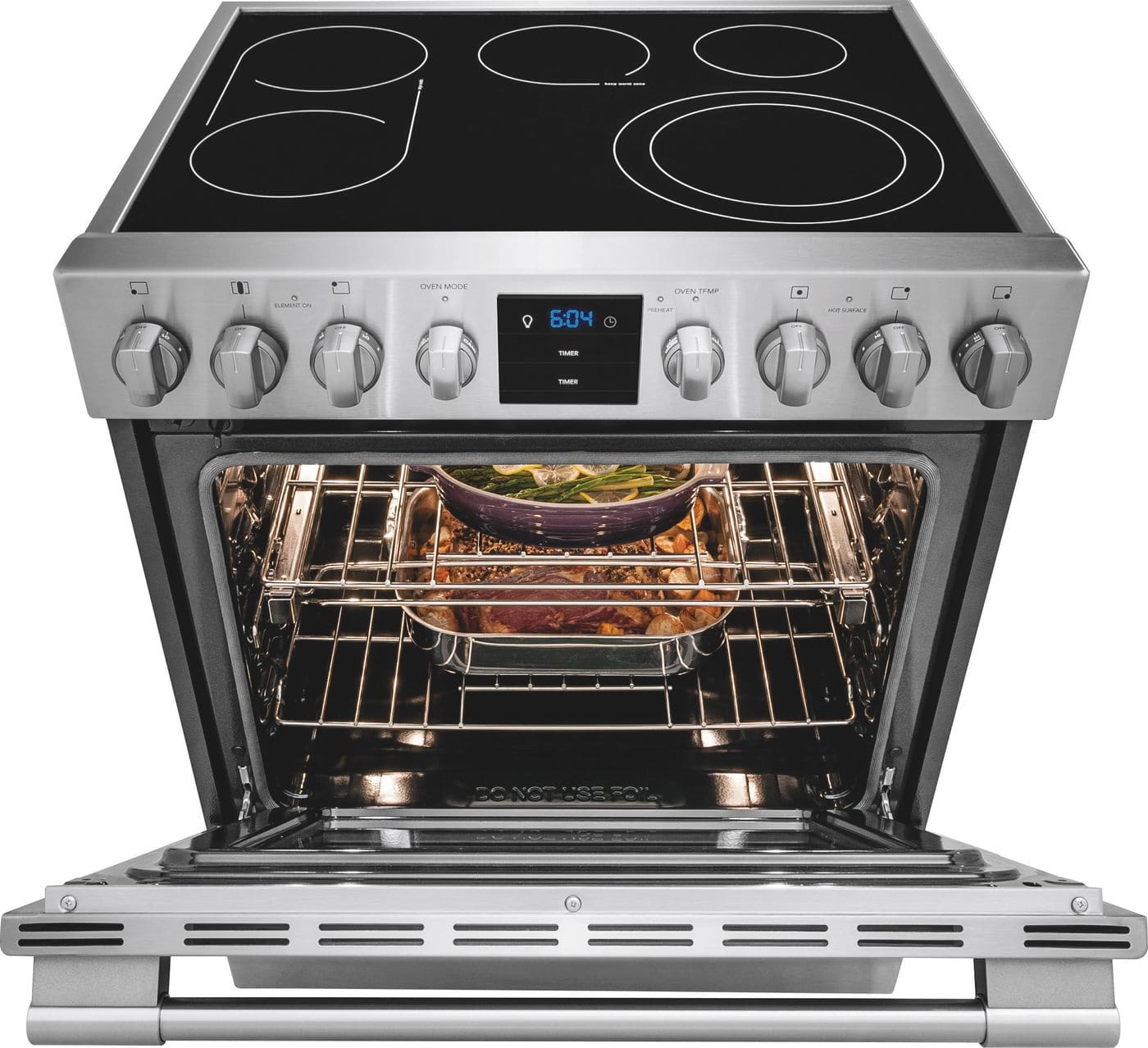 "Model: FPEH3077RF | Frigidaire 30"" Electric Front Control Freestanding"