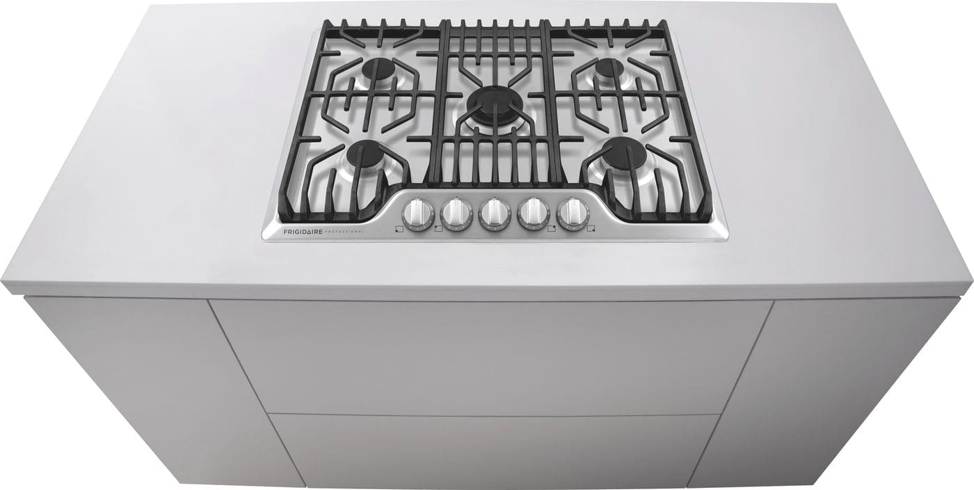 "Model: FPGC3077RS | Frigidaire 30"" Gas Cooktop with Griddle"