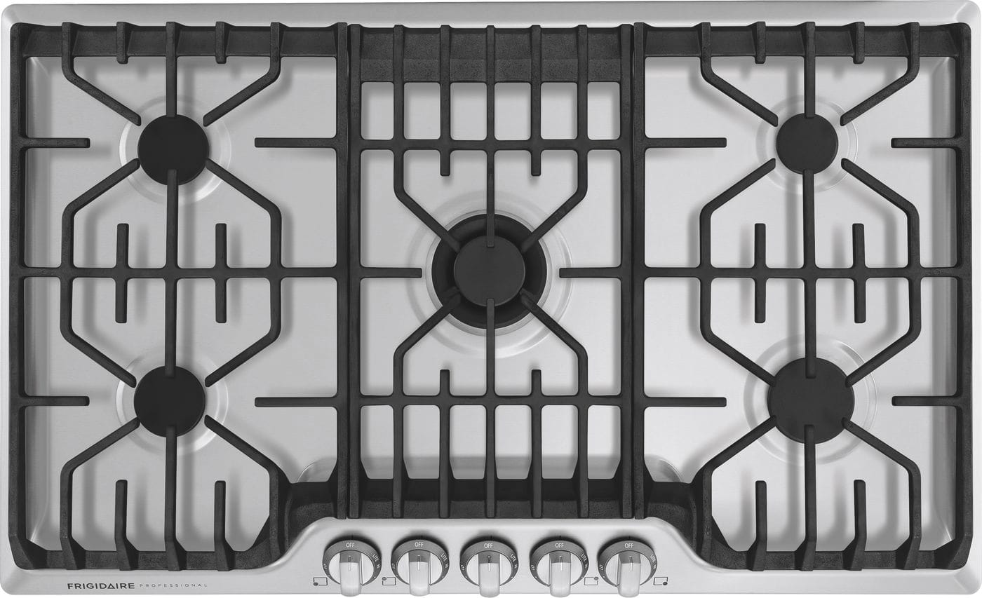 "Frigidaire 36"" Gas Cooktop with Griddle"