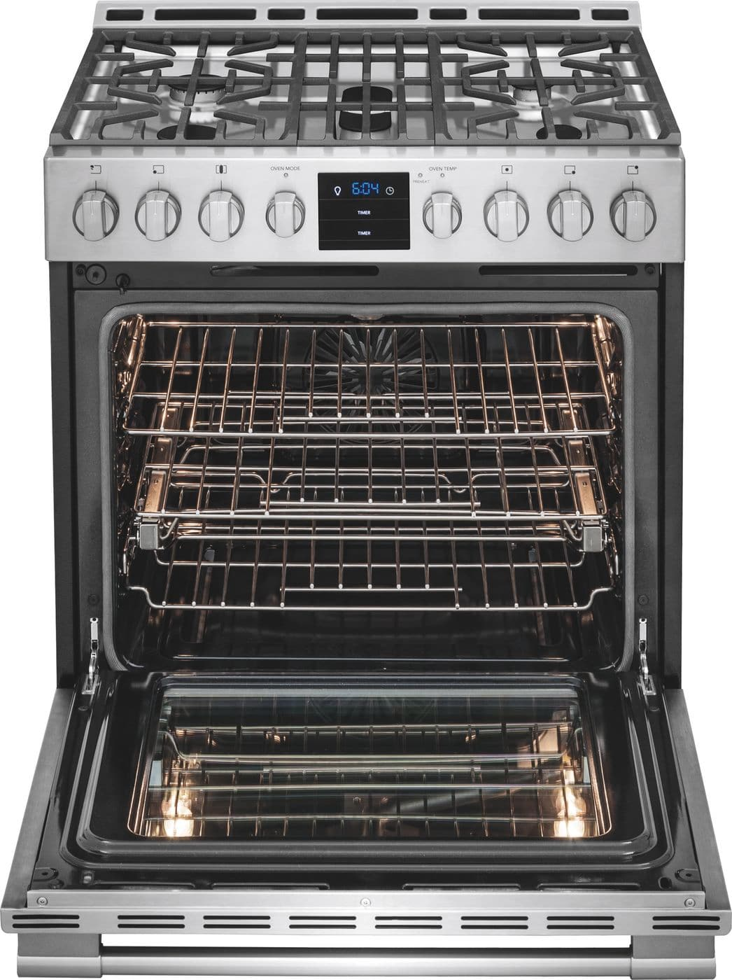 """Frigidaire 30"""" Gas Front Control Freestanding"""