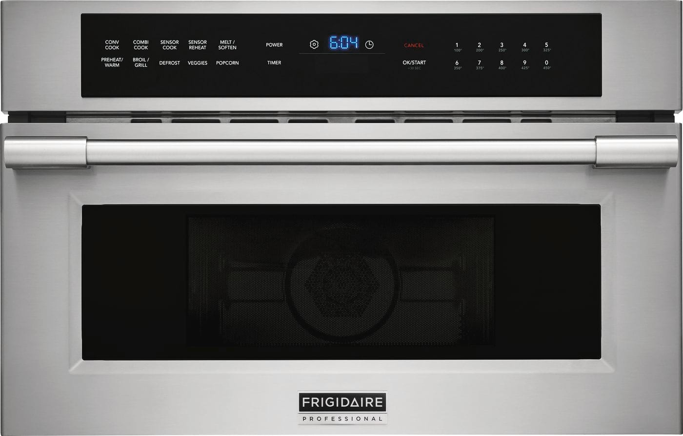 "Frigidaire 30"" Built-In Convection Microwave Oven with Drop-Down Door"