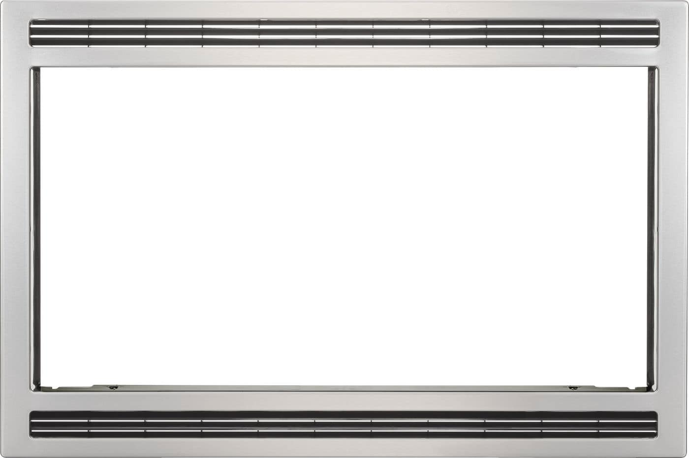 "Frigidaire Black/Stainless 27"" Microwave Trim Kit"