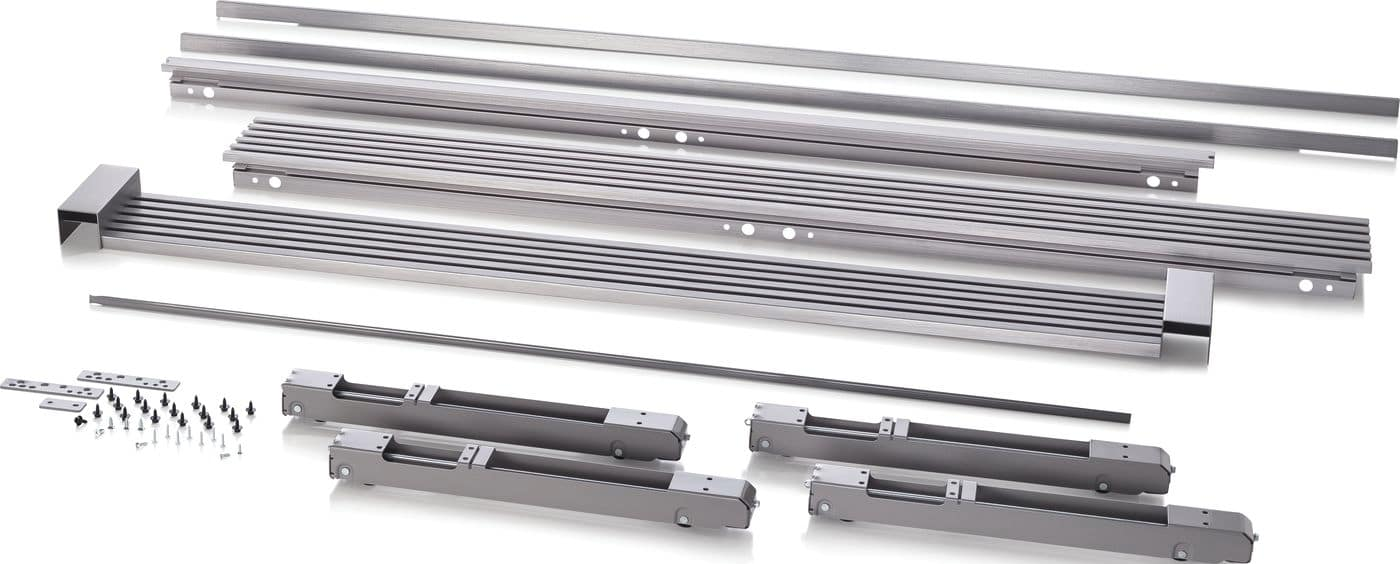 "Electrolux 79"" Louvered or 75"" Collar Dual Stainless Steel Trim Kit"