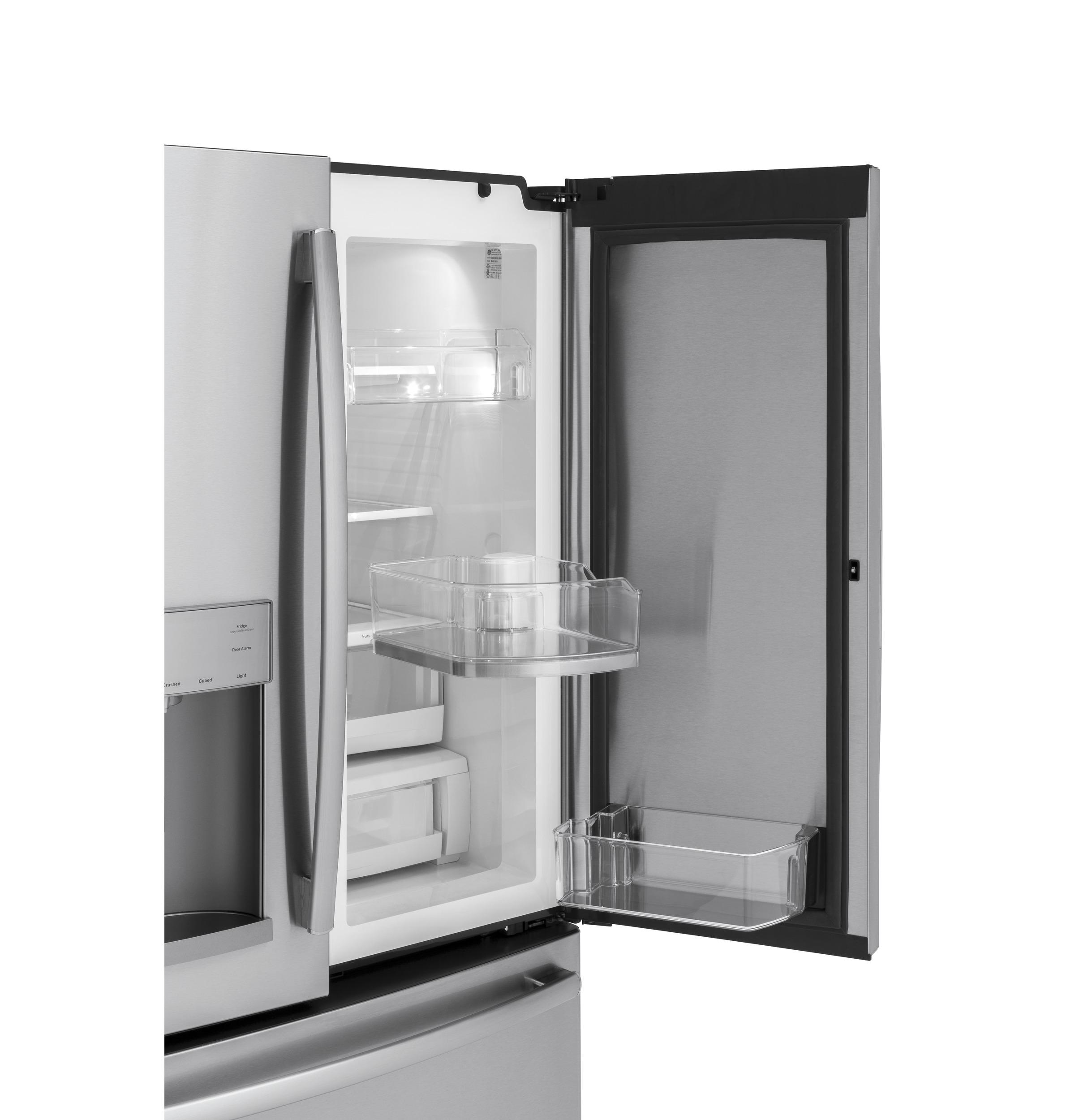 Model: GFD28GYNFS | GE GE® 27.8 Cu. Ft. French-Door Refrigerator with Door In Door