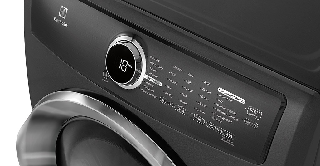 Model: EFMG517SIW | Electrolux Front Load Perfect Steam™ Gas Dryer with Instant Refresh and 8 cycles - 8.0 Cu. Ft.