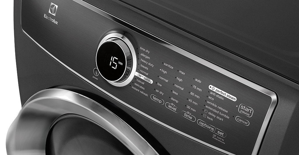 Model: EFMG617STT | Electrolux Front Load Perfect Steam™ Gas Dryer with Instant Refresh and 9 cycles - 8.0. Cu. Ft.