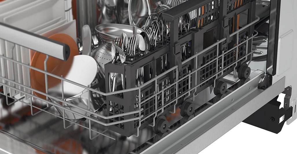 "Model: EIDW1805KS | Electrolux 18""Built-In Dishwasher with IQ-Touch™ Controls"