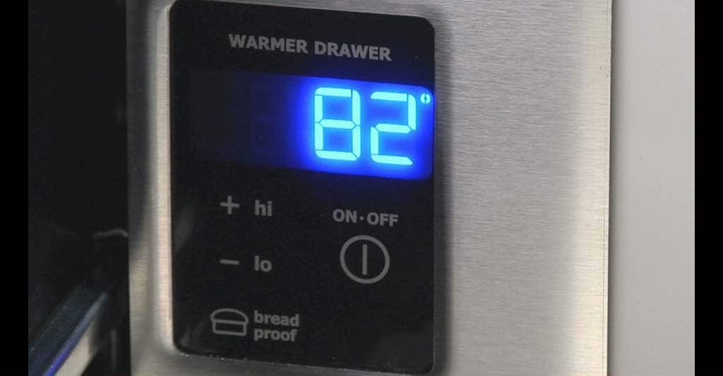 "Model: EW30WD55QS | Electrolux 30"" Built-In Warmer Drawer"