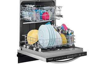 "Model: FGID2466QW | Frigidaire 24"" Built-In Dishwasher"