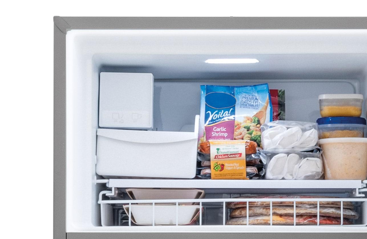 Model: FGTR1837TF | Frigidaire 18.0 Cu. Ft. Top Freezer Refrigerator