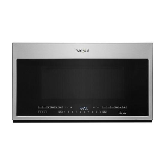 Whirlpool 2.1 Cu. Ft. Over-the-Range Microwave with Steam Cooking