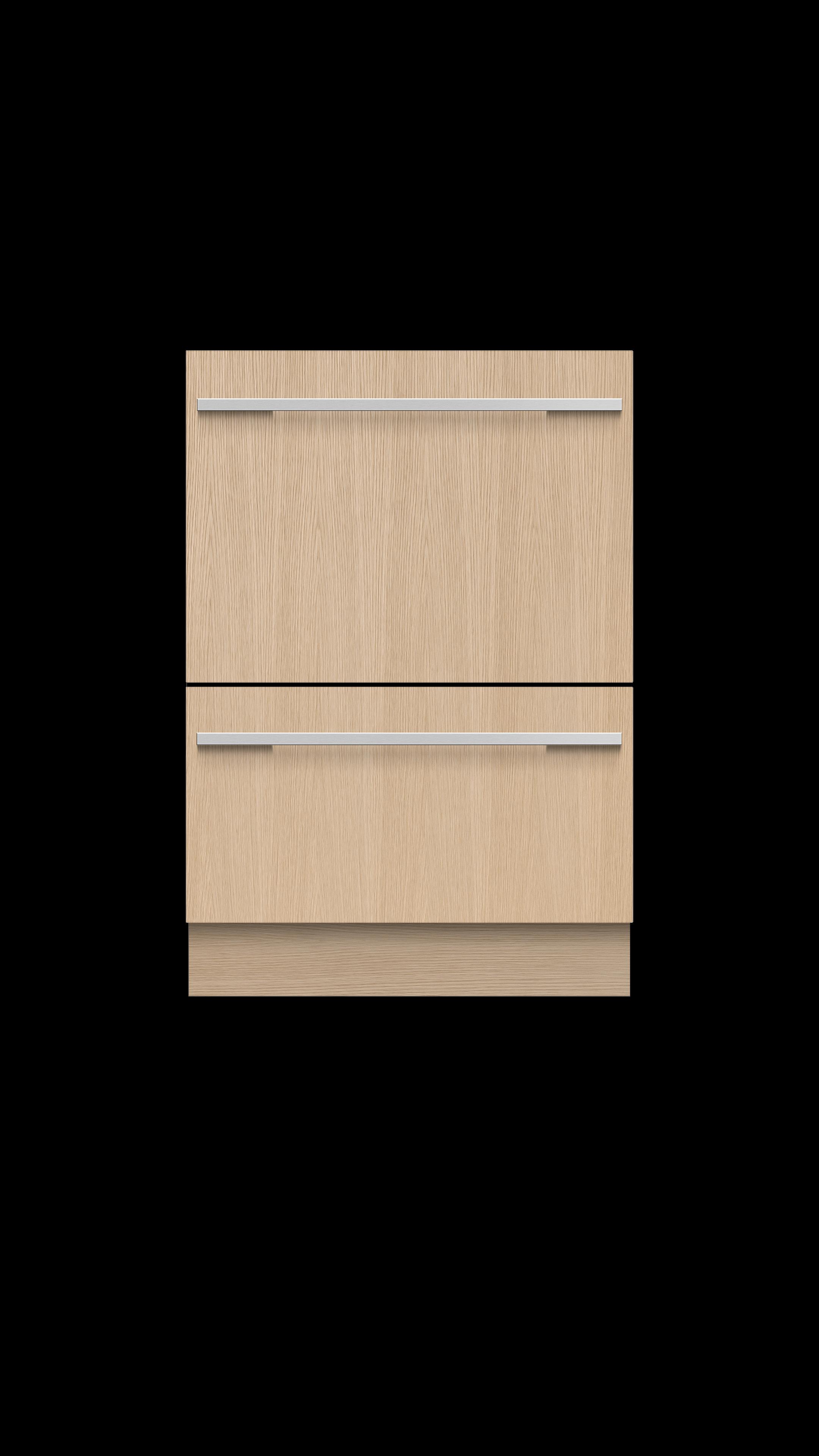 Model: DD24DTI9_N   Double DishDrawer™, 14 Place Settings, Panel Ready (Tall)