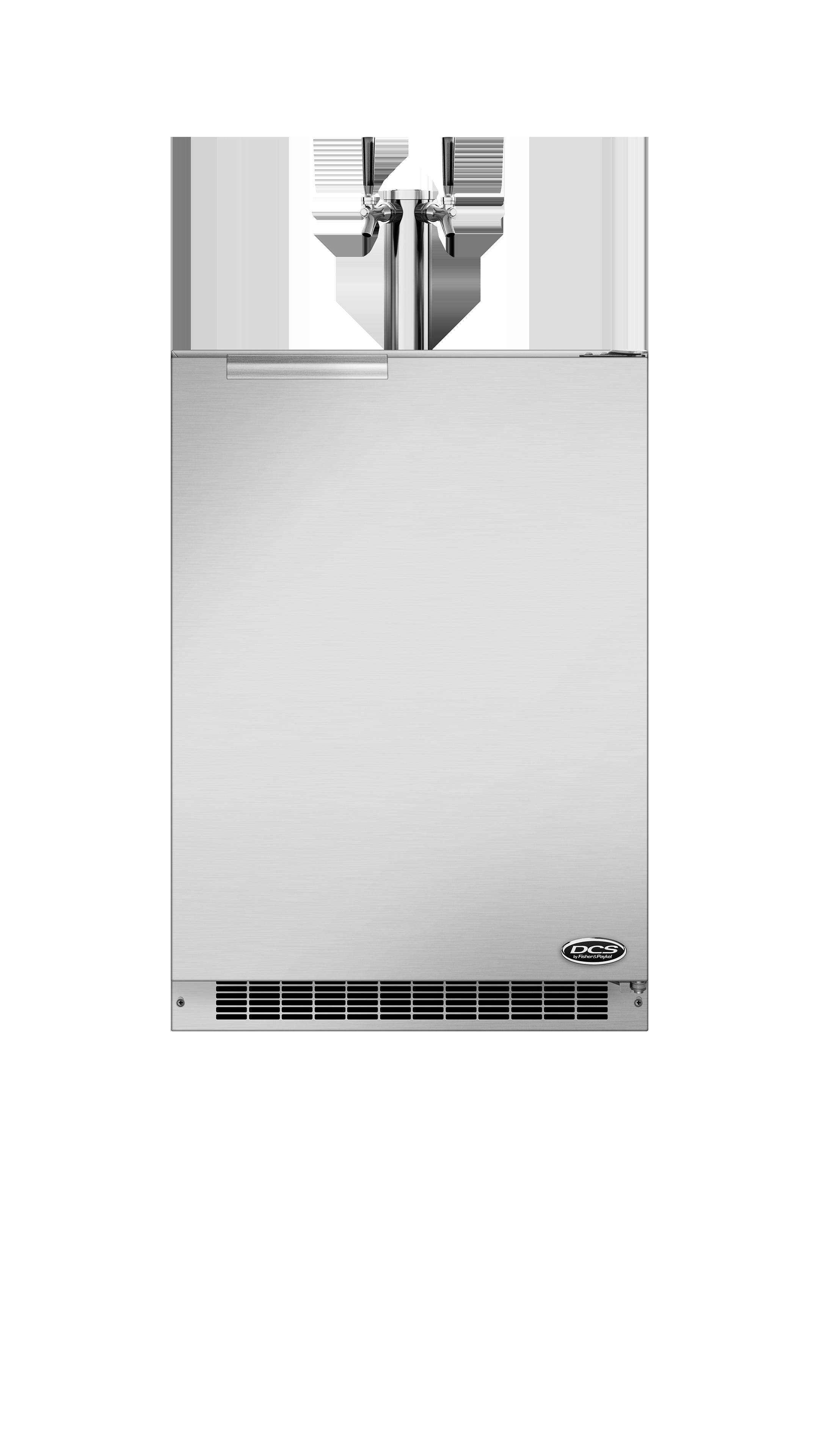 """Model: RF24BTR1   24"""" Outdoor Beer Dispenser - Dual Tap"""