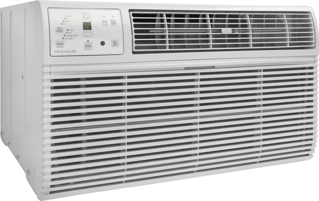 Model: FFTH0822R1 | Frigidaire 8,000 BTU Built-In Room Air Conditioner with Supplemental Heat