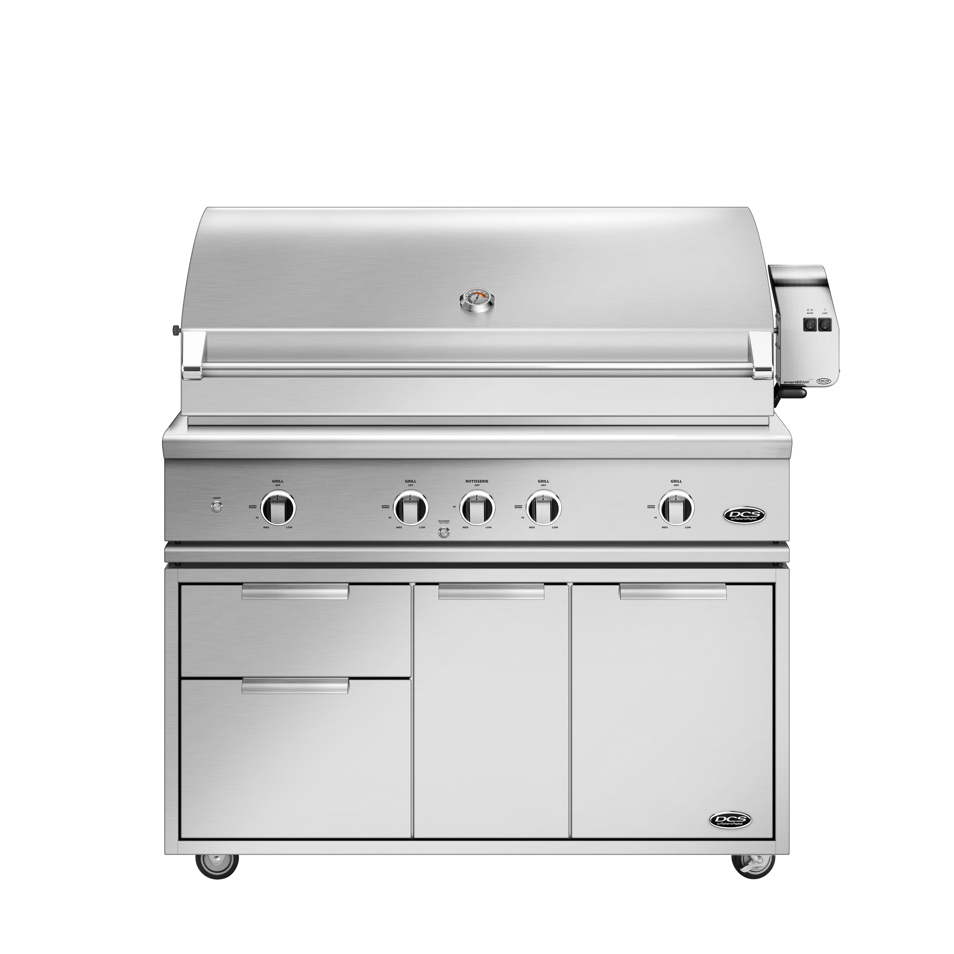 "Model: BE1-48RC-L | 48"" Grill Series 9, Rotisserie and Charcoal (LPG)"