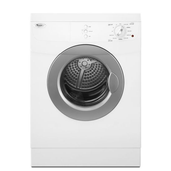 Model: WED7500VW | Whirlpool 3.8 cu.ft Compact Front Load Electric Dryer, 11 Cycles