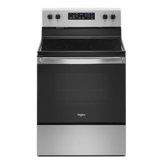 Whirlpool 5.3 cu. ft. Whirlpool® electric range with Frozen Bake™ technology .